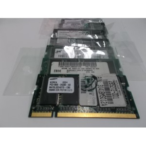 MEMORIA PORTATIL 256MB-DDR 266MHZ PC2100 VARIAS MARCAS