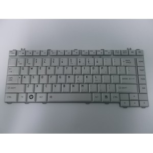 TOSHIBA SATELLITE L510 TECLADO/KEYBOARD US 6037B0038602 REV.A01 MP-06863US-9307 PLATEADO ORIGINAL