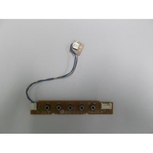 LG CONTROL PANEL BOTONERA TV MOD:L1919S-SF P/N:68769C0893E(0)