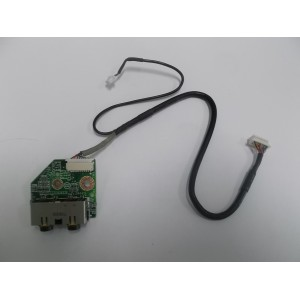 DELL INSPIRON 1520 JACK AUDIO BOARD DAFM5BAB6CC REV.A00