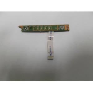 DELL XPS M1330 BUTTON BOARD + FLEX 48.4C304.011 50.4C303.101