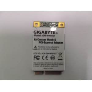 GIGABYTE WIFI CARD MINI PCI-EXPRESS MODEL :GN-WI021GT