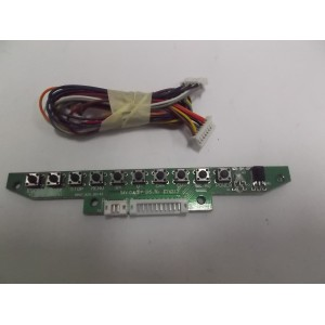 IR BUTTON BOARD TV SPW7.825.50143