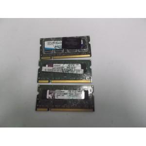 SODIMM DDR2 1RX8 PC2 6400S TESTEADA /VARIAS MARCAS